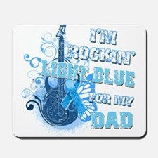 I'm Rockin' Light Blue for my Mousepad