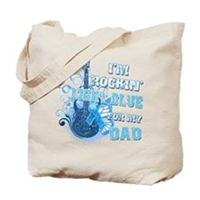 I'm Rockin' Light Blue for my Tote Bag