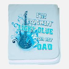 I'm Rockin' Light Blue for my baby blanket