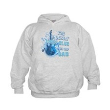 I'm Rockin' Light Blue for my Hoodie