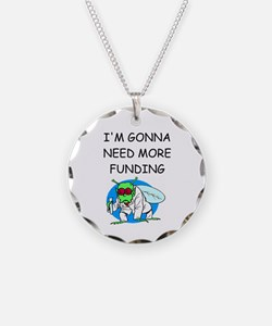 Medical research joke Necklace