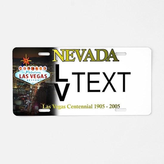 Las Vegas Customizable Plate