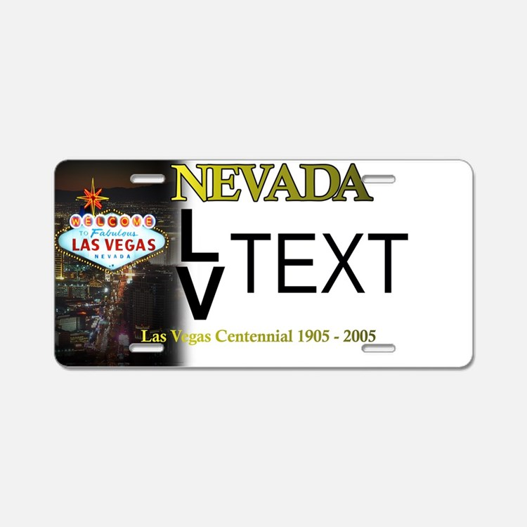 Las Vegas Customizable Plate