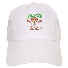 Little Monkey Sebastian Baseball Cap