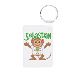 Little Monkey Sebastian Keychains