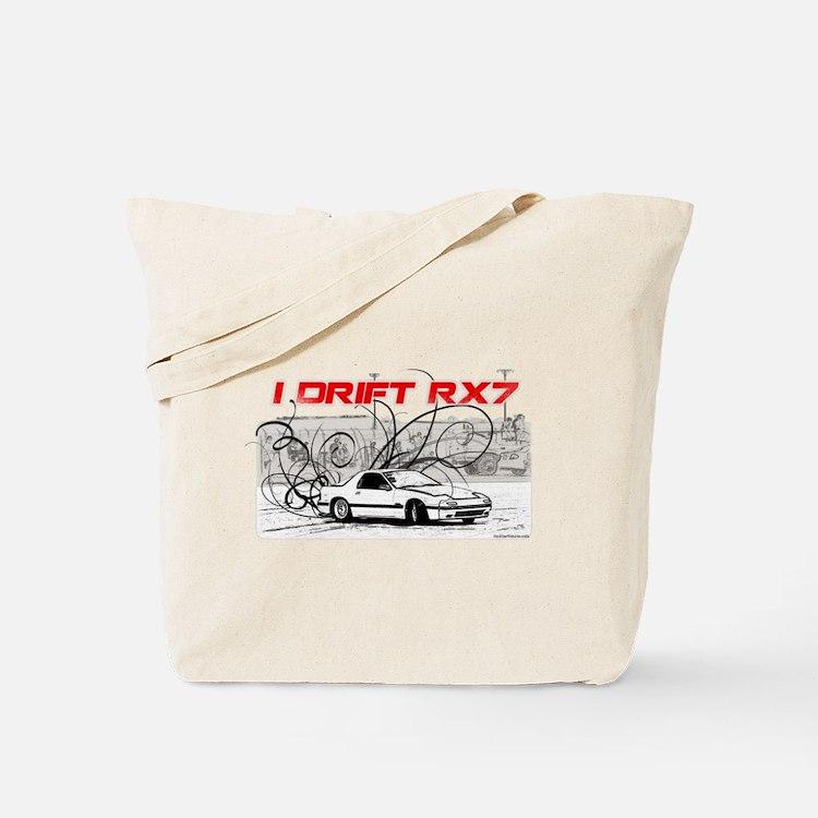 Cute Drift rx7 Tote Bag