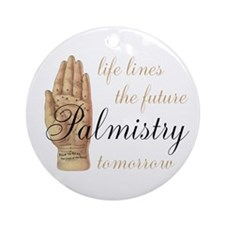 Palmistry Ornament (Round)