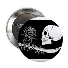 "BlackRose 2.25"" Button (100 pack)"