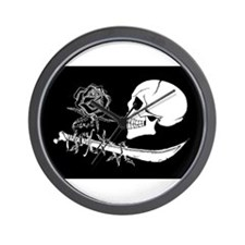 BlackRose Wall Clock