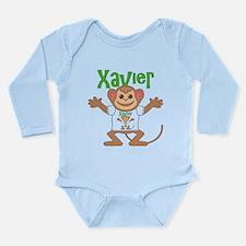 Little Monkey Xavier Long Sleeve Infant Bodysuit
