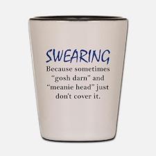 Swearing Shot Glass