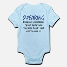 Swearing Infant Bodysuit