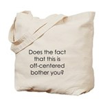Off Center Tote Bag