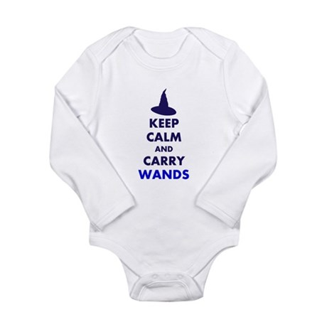 Carry Wands Long Sleeve Infant Bodysuit