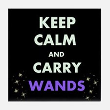 Carry Wands Tile Coaster