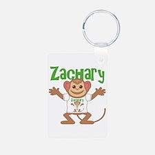 Little Monkey Zachary Keychains