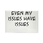 My Issues Rectangle Magnet (10 pack)