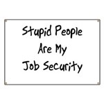 Job Security Banner
