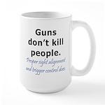Guns Trigger Large Mug