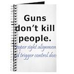 Guns Trigger Journal