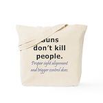 Guns Trigger Tote Bag