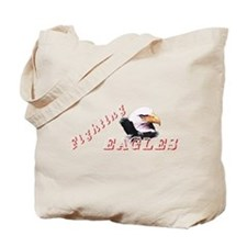 Fighting Eagles Tote Bag