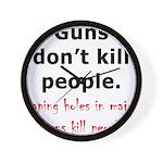 Guns Organs Wall Clock