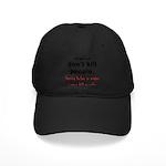 Guns Organs Black Cap
