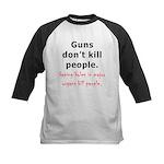 Guns Organs Kids Baseball Jersey