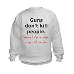 Guns Organs Kids Sweatshirt
