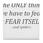 Fear Itself Tile Coaster