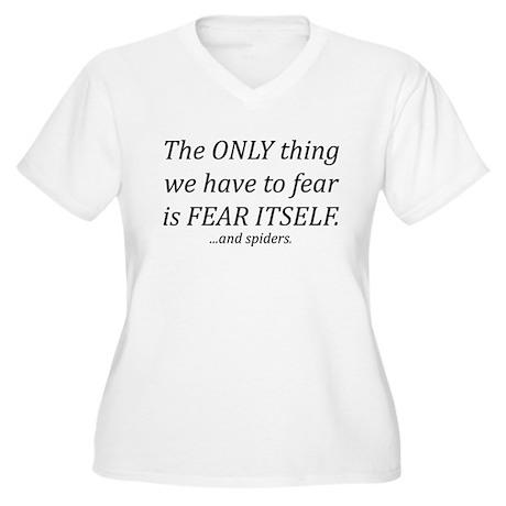 Fear Itself Women's Plus Size V-Neck T-Shirt