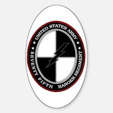 75th Ranger SOCOM Sticker (Oval)