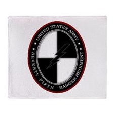 75th Ranger SOCOM Throw Blanket