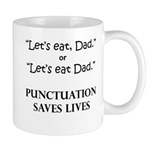 Punctuation Saves Mug