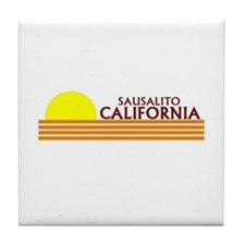 Palm springs Tile Coaster