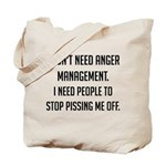 Anger Management Tote Bag