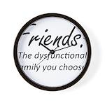 Friends Dysfunction Wall Clock