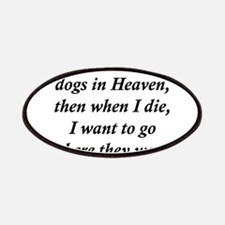 Dogs Heaven Patches