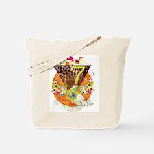 Funny Bohemian owl Tote Bag