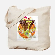 Unique Peacock design Tote Bag
