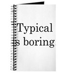 Typical Boring Journal