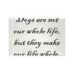 Dog Whole Rectangle Magnet (10 pack)