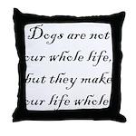 Dog Whole Throw Pillow