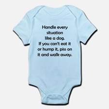 Dog Situation Infant Bodysuit