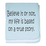 True Story baby blanket