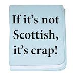 Scottish Crap baby blanket