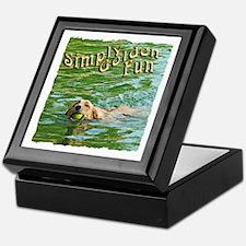 Simply Golden Fun Keepsake Box
