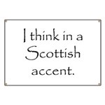 Scottish Accent Banner