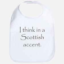 Scottish Accent Bib